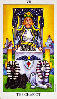 image of The Chariot tarot card